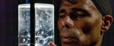 Antarctic ice capsule
